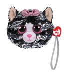 Ty Fashion Kiki The Cat Sequin Wristlet