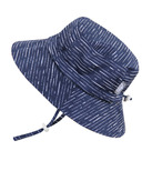 Jan & Jul Cotton Bucket Hat Navy Waves