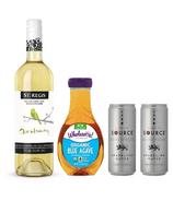 Agave Nectar White Sangria Mocktail Bundle