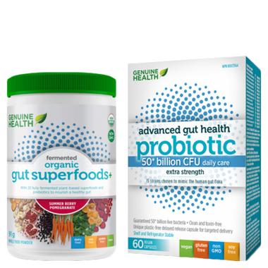 Genuine Health Adult Gut Health Bundle