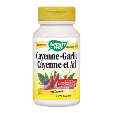 Nature\'s Way Cayenne-Garlic