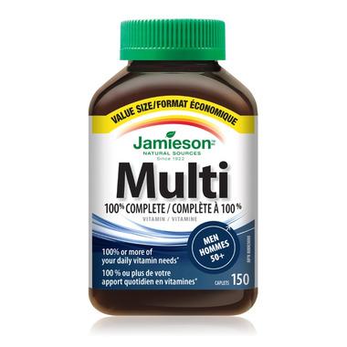 Jamieson Men\'s Adult Multivitamin 50+ Value Pack