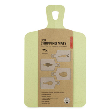 Kikkerland Eco Chopping Mats