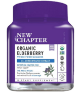 New Chapter Organic Elderberry Gummies
