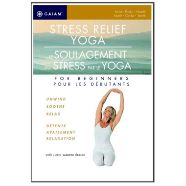 Gaiam: Stress Relief Yoga For Beginners DVD