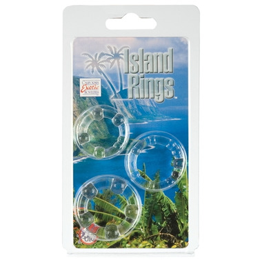 California Exotic Novelties Island Rings