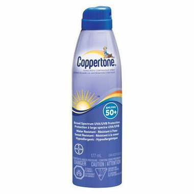 Coppertone Clear Continuous Spray Sunscreen