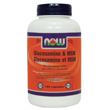 NOW Foods Glucosamine & MSM