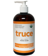 Truce Organic Hand Soap Lemongrass