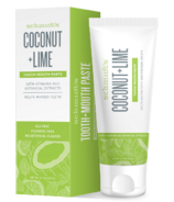 Schmidt's Naturals Tooth + Mouth Paste Coconut Lime