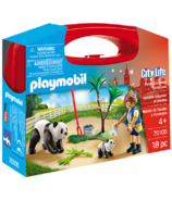 Playmobil Panda Caretaker Carry Case S