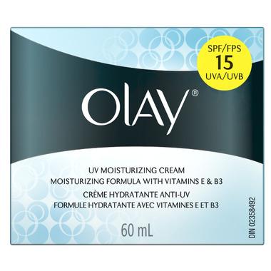 Olay Active Hydrating UV Moisturizing Cream with SPF 15
