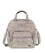 Lug Canter Convertible Tote Leopard Pearl