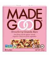 MadeGood Strawberry Granola Organic Bars
