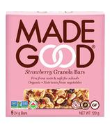 MadeGood Strawberry Granola Organic Bars