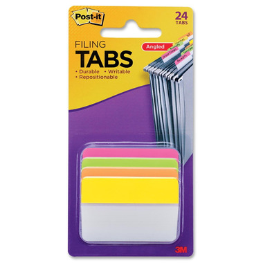 Post-it Angled Filing Tabs
