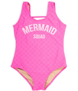 Shade Critters Tank Swimsuit Mermaid Squad Fuschia
