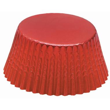 Red Foil Mini Bake Cups
