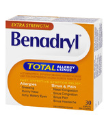 Benadryl TOTAL Allergy & Sinus Caplets