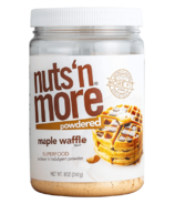Nuts'N More Maple Waffle Powdered
