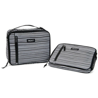 PackIt Freezable Classic Lunch Box Wobbly Stripes
