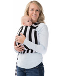 Milk Snob Wrap Black & White Signature Stripes