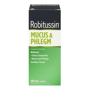 Robitussin Mucus & Phlegm
