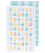 Now Designs Dishtowel Set Easter Eggs