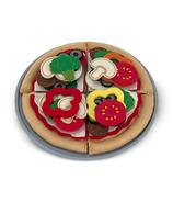 Jeu d'aliments en feutre pour pizza de Melissa & Doug