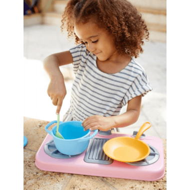 Green Toys Pink Stove Top