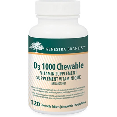 Genestra D3 1000 Chewable