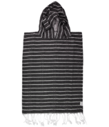 House of Jude Turkish Towel Child Poncho Raven