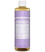 Dr. Bronner's Organic Pure Castile Liquid Soap Lavender 16 Oz