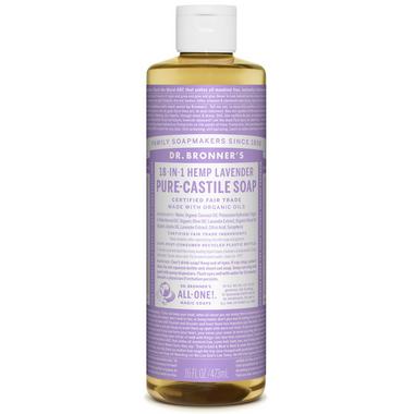 Dr. Bronner\'s Organic Pure Castile Liquid Soap Lavender 16 Oz