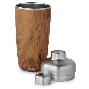 S\'well Stainless Steel Shaker Set Teakwood