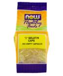 """NOW Foods Empty Gelatin Capsules """"1"""""""