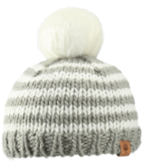 Bedford Road Grey Knitted Hat Pom Pom