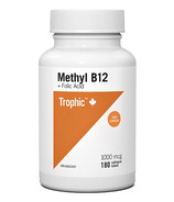 Trophic Methyl B12 Sublingual with Folic Acid