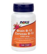 Pastilles en losanges de B12 pour la mémoire NOW Foods