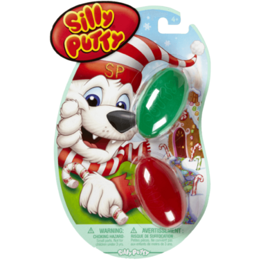 Silly Putty Holiday Eggs