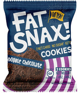 Fat Snax Double Chocolate Cookies