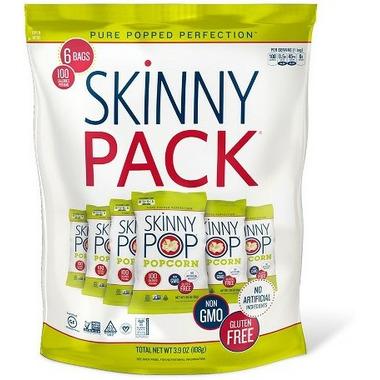 Skinny Pop Popcorn Original Skinnypack