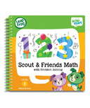 LeapFrog LeapStart Preschool Math Activity Book Scout & Friends Math