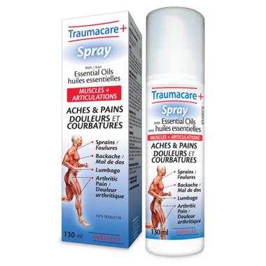 Homeocan Traumacare+ Spray with Essential Oils