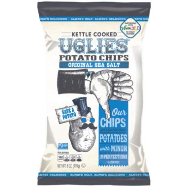 UGLIES Original Sea Salt Kettle Cooked Potato Chips
