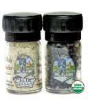 Celtic Sea Salt & Organic Peppercorn Set