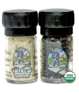 Celtic Sea Salt & Organic Peppercorn Set