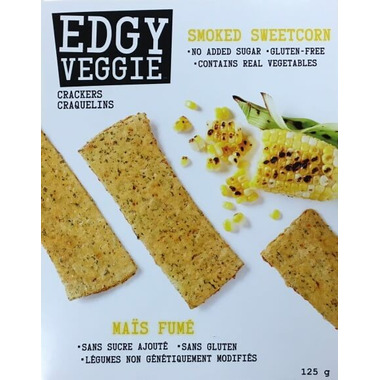Edgy Veggie Crackers Smoked Sweetcorn