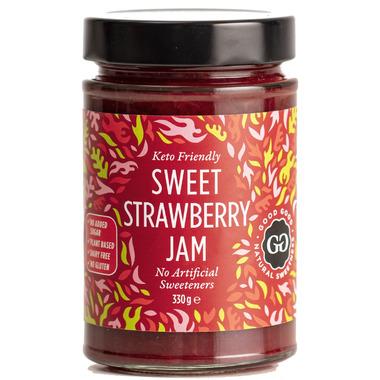 Good Good Keto Friendly Sweet Strawberry Jam