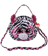 Ty Fashion Zoey the Zebra Sequin Purse